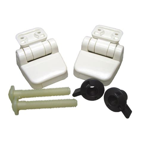 Jabsco Regular Bowl Toilet Seat Hinges  Sheridan Marine