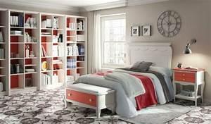 Etagere Chambre Ado : 60 exemples pour la chambre enfant bois moderne ~ Teatrodelosmanantiales.com Idées de Décoration