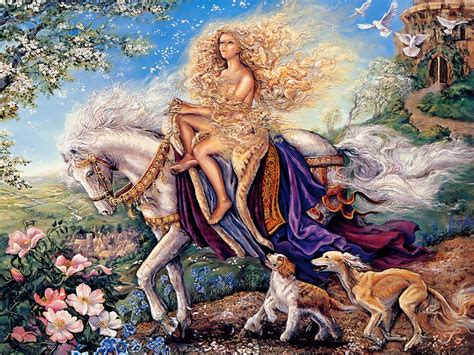 [fantasy Art] [painting] Josephine Wall  Art For Your