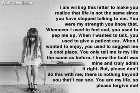 letter to my boyfriend who hurt me i am sorry messages