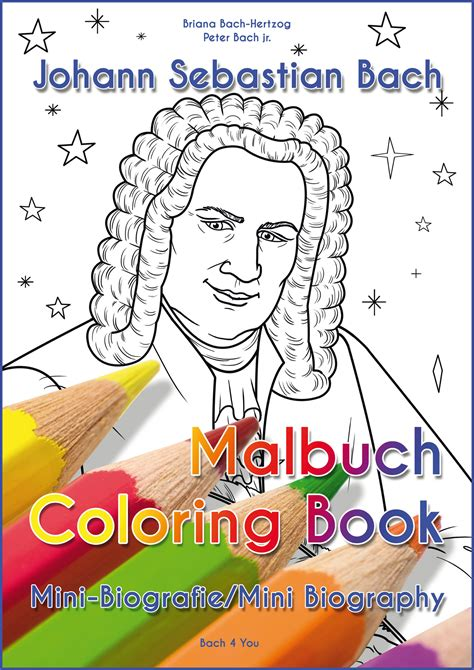 Johann Sebastian Bach Coloring Pages Coloring Page