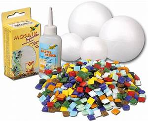 Mosaik Basteln Mit Kindern : mosaik kugeln bastelset ~ Lizthompson.info Haus und Dekorationen
