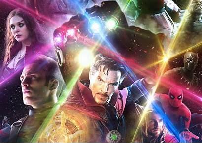 Scarlet Witch Thanos Avengers Marvel Strange Doctor