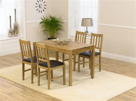 casa oak dining table 120cm 4 casa oak dining chairs