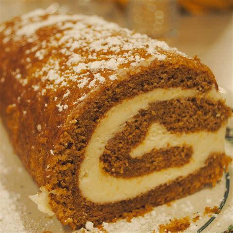 pumpkin cake roll homemade by holman pumpkin roll