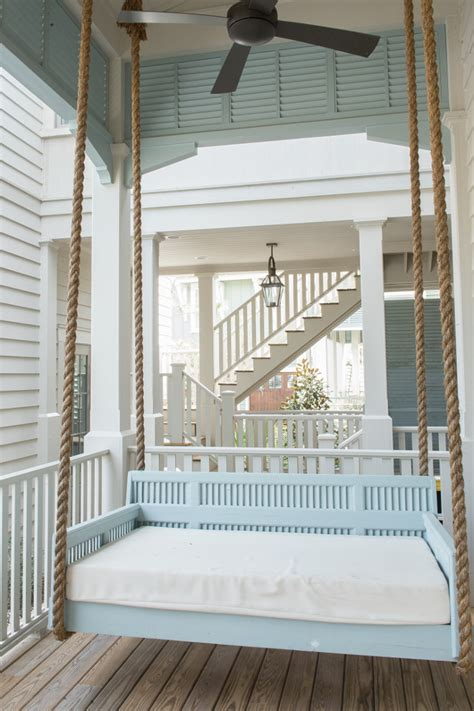 Porch Paint Colors Benjamin by House With Transitional Coastal Interiors Home
