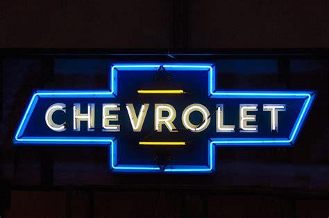 Chevrolet Neon Light Photograph By Jill Reger