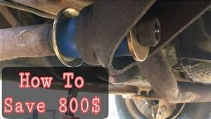 How To Install Radius Arm Bushings On A Ford E350 Camper