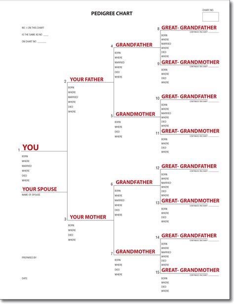 Ancestral Chart  Genealogy Charts Ayucar