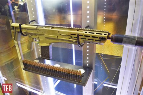 shot  textrons ngsw rifle  display   hk booth  firearm blog