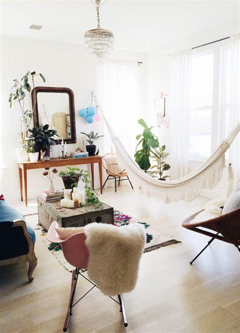 bring  outdoors  living room hammocks hanging