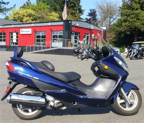 2005 Suzuki Burgman 400 by 2005 Suzuki Burgman 400 Motorcycles For Sale