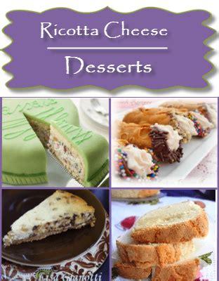 ricotta cheese dessert