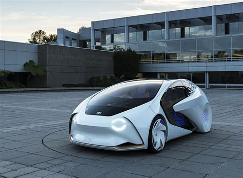 toyota concept  built   driver vehicle