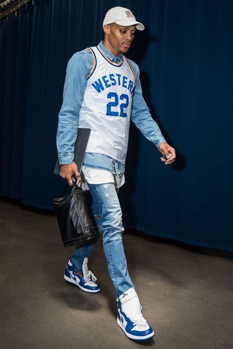 Russell Westbrooks Wildest Weirdest And Most Stylish