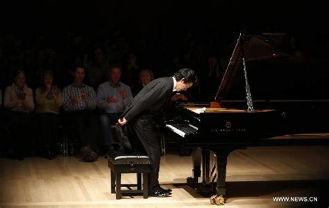 Pianist Li Yundi Holds Recital In London