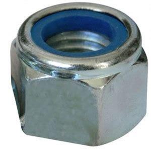 nyloc nut p type steel zinc plated metric