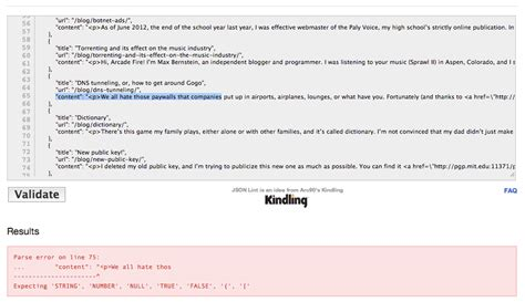 Parsing Resumes Stack Overflow by Javascript Parsing Json Returns Cryptic Error Stack