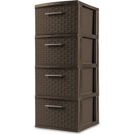sterilite 5 drawer tower sterilite 4 drawer weave tower espresso onsales41
