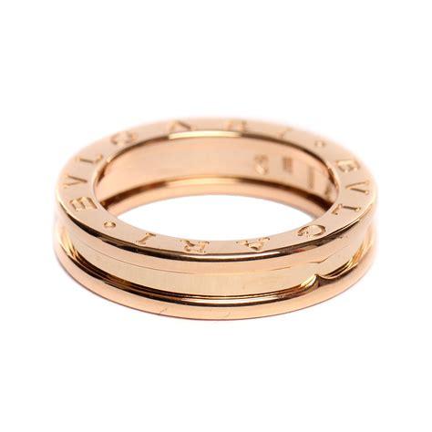 bvlgari宝格丽 戒指 指环 bulgari 宝格丽 单环玫瑰金戒指 52 正品 价格 图片 寺库网