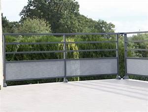 Garde Corps Terrasse Aluminium : garde corps aluminium nancy mercier david ~ Melissatoandfro.com Idées de Décoration