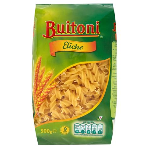 water salt buitoni eliche pasta 500g pasta rice pasta noodles