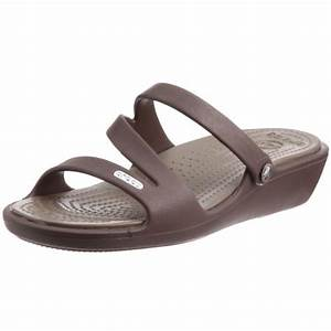 #1 crocs Women's Patricia Open Toe Wedge for Sale - Shoes 2819