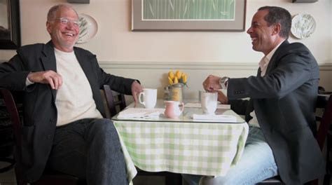 I stopped drinking coffee, and she hated it. Comedians in Cars Getting Coffee: Here's how Ricky Gervais, Chris Rock, and David Letterman take ...
