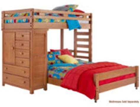 art van loft bed with desk creekside twin full step loft bed with desk art van
