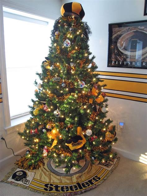 steelers tree for the gameroom steelers rooms ideas