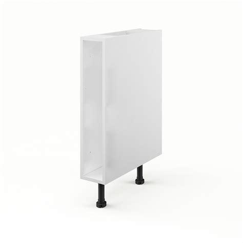 caisson cuisine 15 cm caisson de cuisine bas b15 delinia blanc l15 x h85 x p56