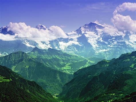 bernese alps switzerland desktop wallpapers 1600x1200