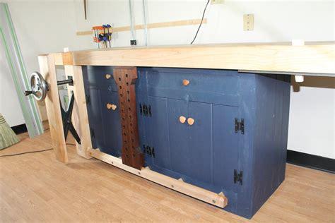 benchcrafted shaker workbench  carterr  lumberjockscom woodworking community
