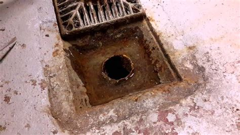 sewer gas smell  basement youtube