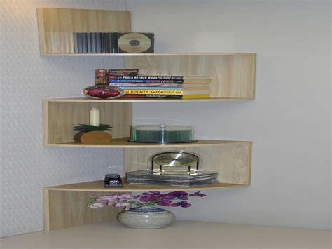 wall shelving ideas wooden and glass corner rack decorating color floating shelves corner wall shelf design ideas