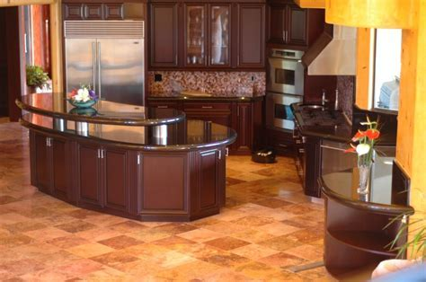 Kitchen: Awesome L Shape Modern Kitchen Decoration Using