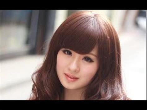 cute korean hairstyles   faces youtube