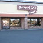 Backyard Bar And Grill Restaurants
