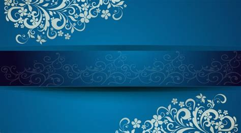 gorgeous blue background business cards