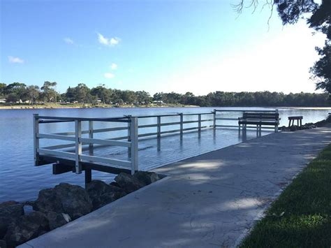 wheelchair r railing fishing platform at lake cathie opens camden courier 1002