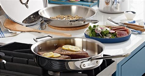 cookware clad regularly shipped piece stainless steel pc hip2save macys only macy