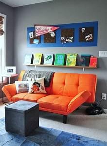 Sofa Für Jugendzimmer : jugendzimmer gestalten 100 faszinierende ideen ~ Michelbontemps.com Haus und Dekorationen
