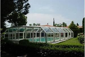 Abri Haut Piscine : abri de piscine t lescopique haut sur mesure crystal ~ Premium-room.com Idées de Décoration