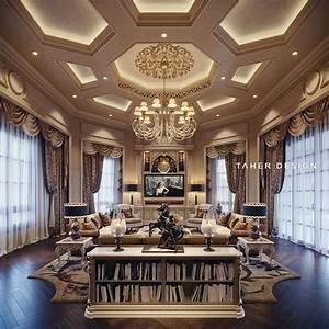 Family, Room, Design, For, Luxury, Mansion, Located, In, Dubai
