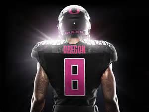 New Oregon Ducks Pink Uniforms