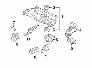 Volkswagen Rabbit Manual Transmission Mount  Left  Engine