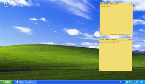 post it bureau pc creare post it sul desktop gratis salvatore aranzulla