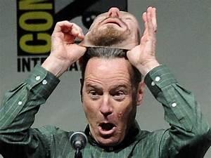 Bryan Cranston Wore A Heisenberg Mask To Comic-Con ...