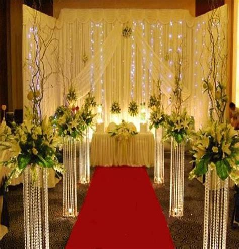 wedding ceremony decorations for sale metal stand with acrylic for wedding aisle decoration and sqaure shape acrylic