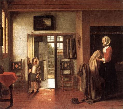 faou chambre a coucher the bedroom c 1659 pieter de hooch wikiart org